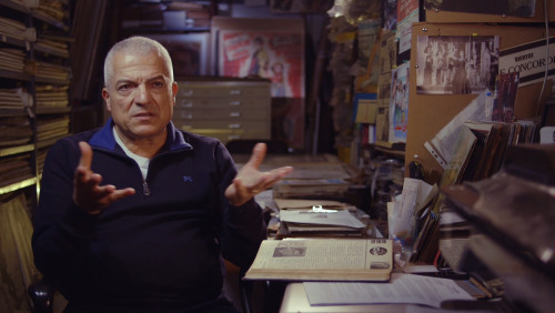 Film poster collector Abboudi Bou Jaoude